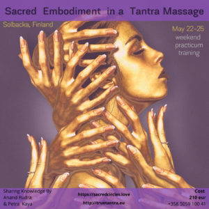Sacred Embodiment in a Tantra Massage